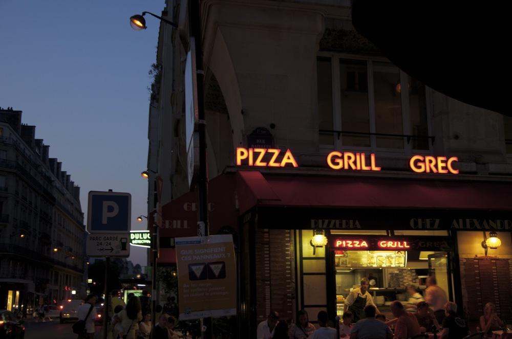 commenter > Restaurant grec, rues Bailleul et du Louvres < comment
