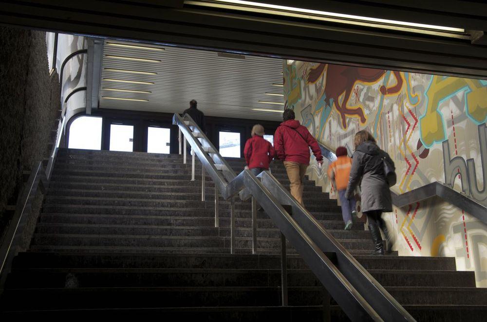 commenter > Métro Champs-de-Mars (murale) < comment