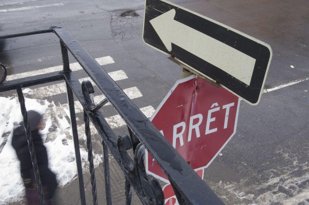 commenter >  Rues Jeanne-Mance et St-Viateur (d'un balcon)  < comment