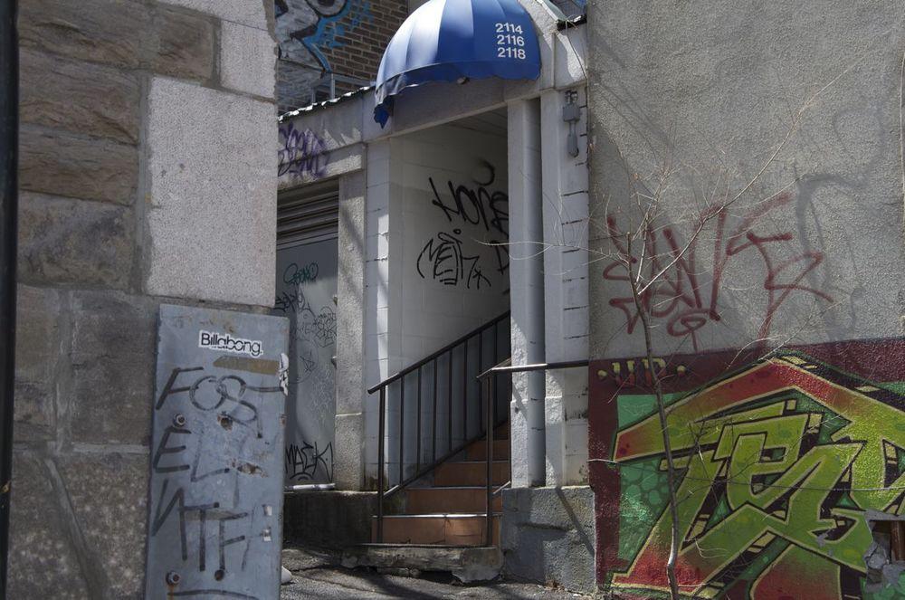 commenter > Terrasse St-Denis (escalier arrière)  < comment