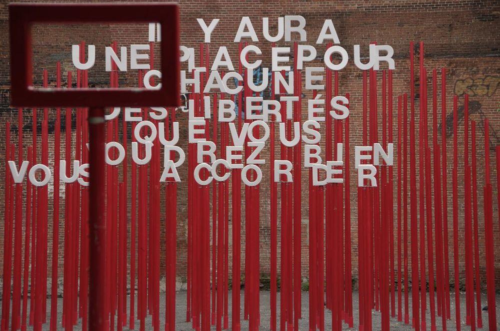 Rue Ste-Catherine (chacune des libertés)
