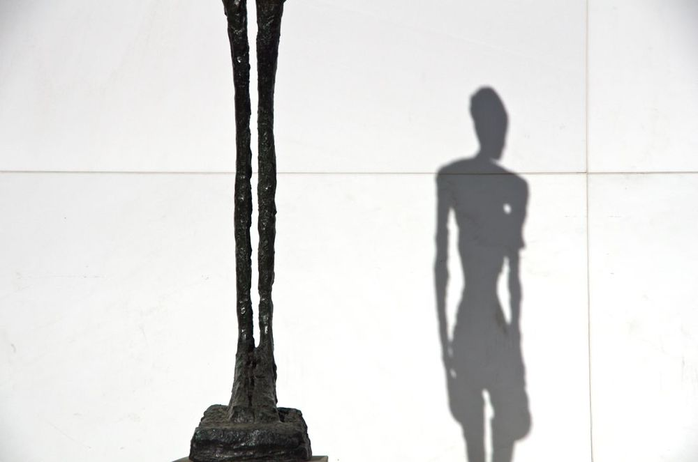 MoMA (Tiptoe / Shadow - Thank You Mr Giacometti)