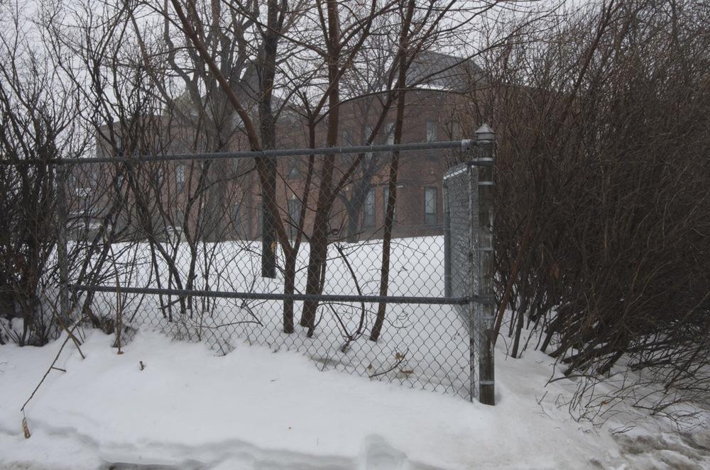 Espace clos, rue Sherbrooke Est
