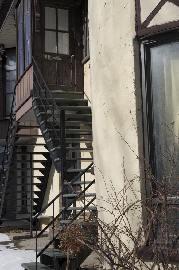 Escaliers et vestibule, rue Lambert-Closse