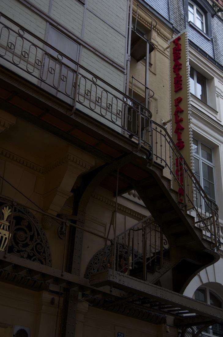 L'escalier du théatre du Palais Royal, rue de Montpensier