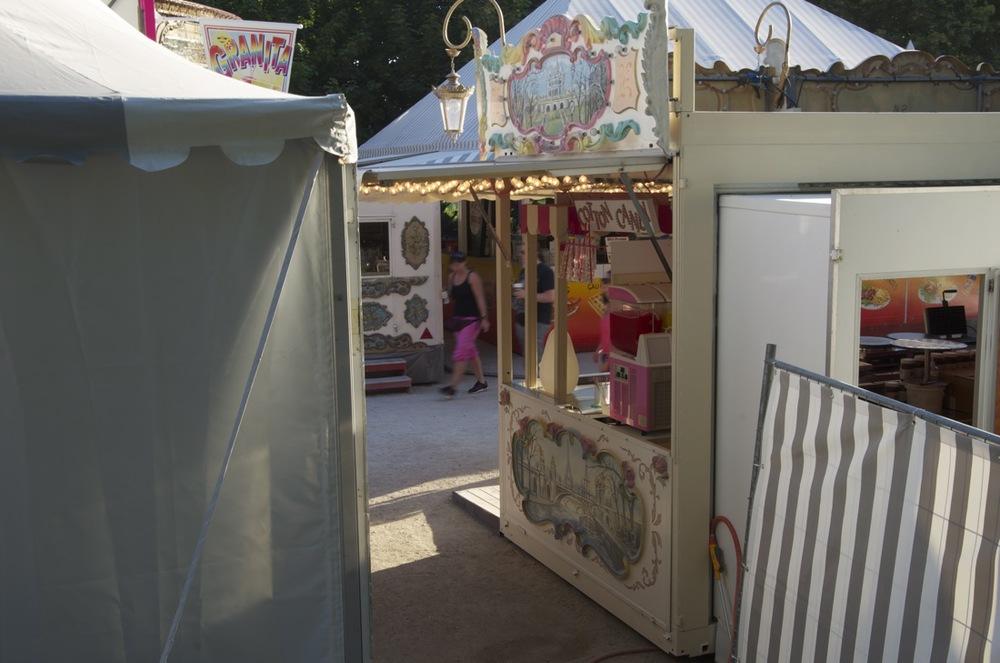 Kiosques de cirque, Jardin des Tuileries