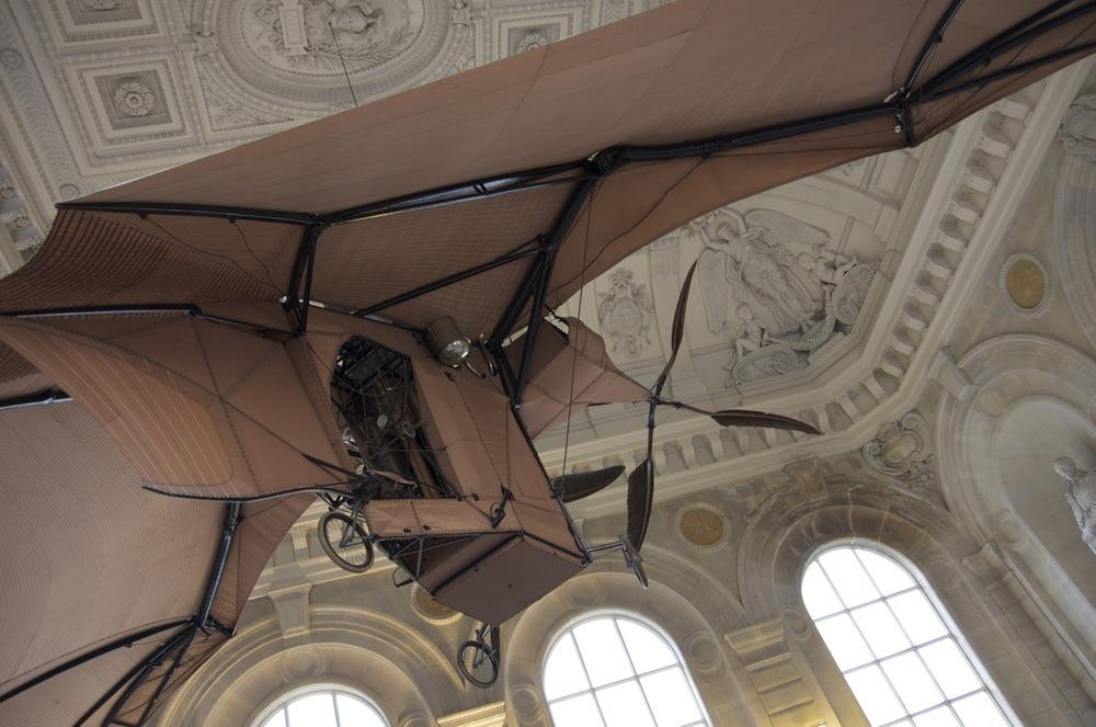 Aéroplane de Clément Ader, Musée des arts et métiers