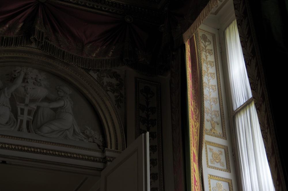 Le jour par une fenêtre, château de Fontainebleau