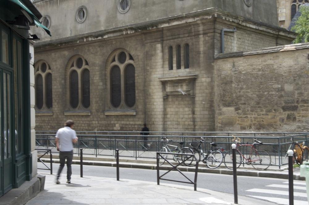 Derrière St-Médard, rue de Candolle