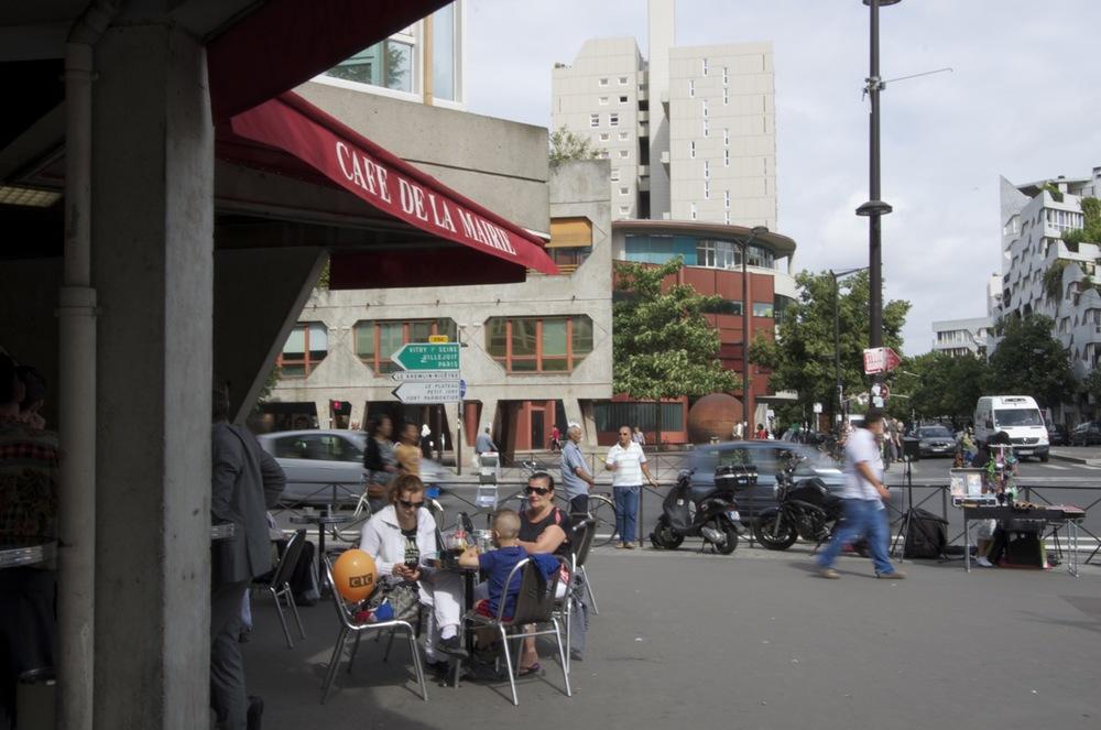 Rue Raspail, à l'avenue Georges-Gosnat, Ivry-sur-Seine