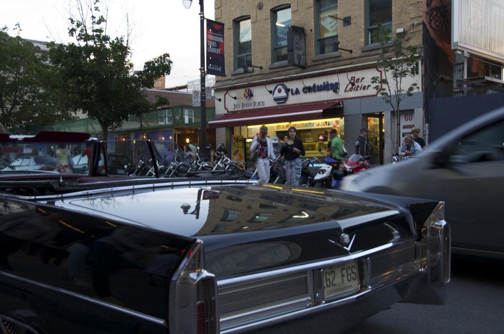 Rutilante Cadillac, rue Ste-Catherine Est, 2/2