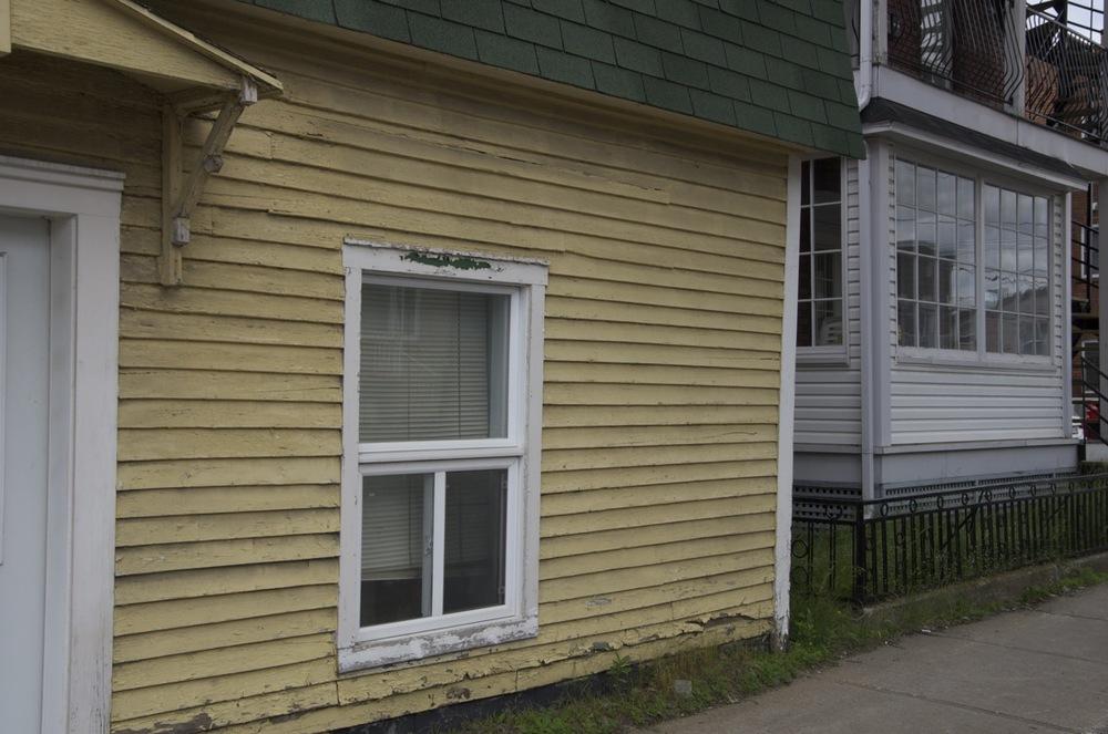 Deux maisons, rue St-Georges