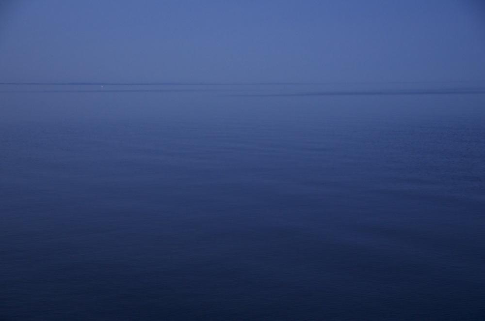 Presque la nuit, lac St-Jean,