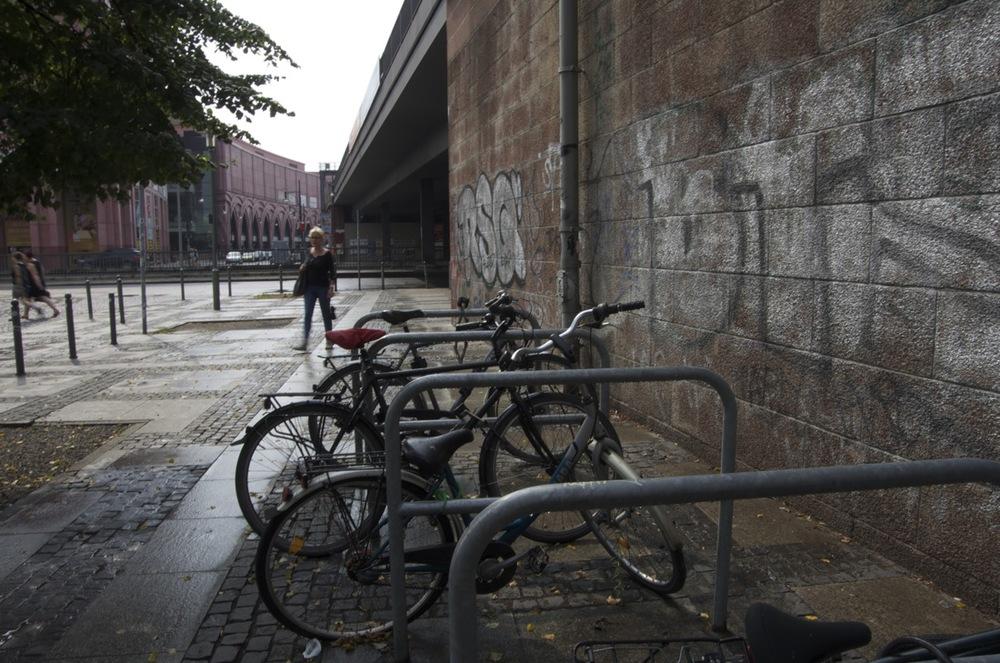 Velos, Dirkenstraße, Alexanderplatz