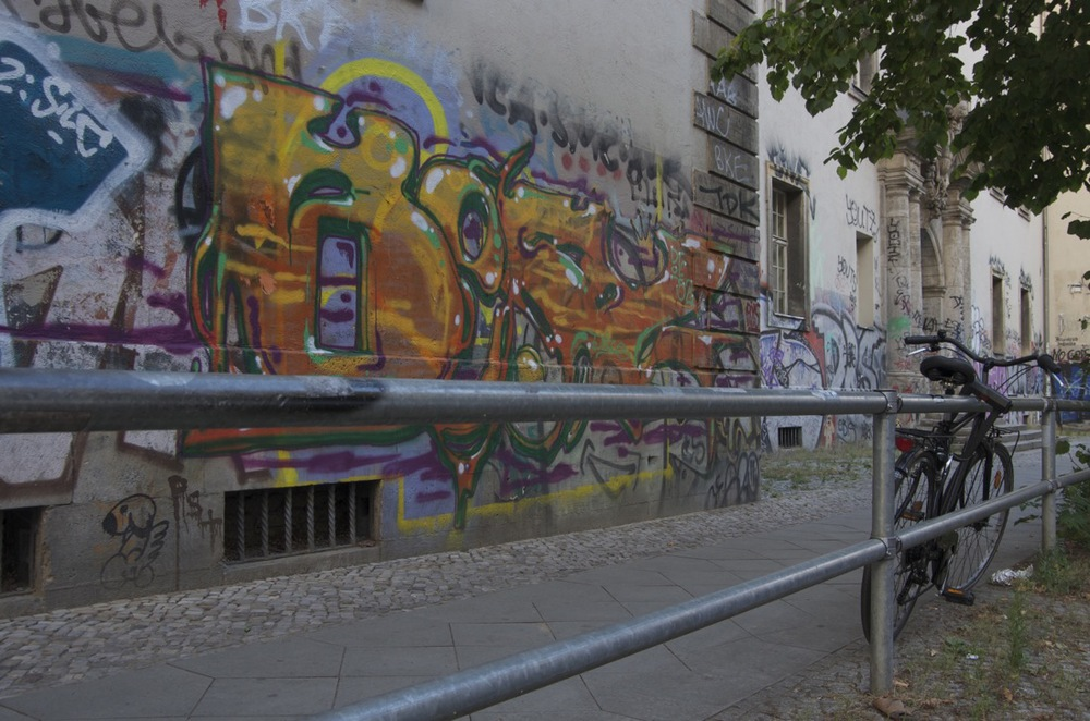 Graffiti, Rigaerstraße