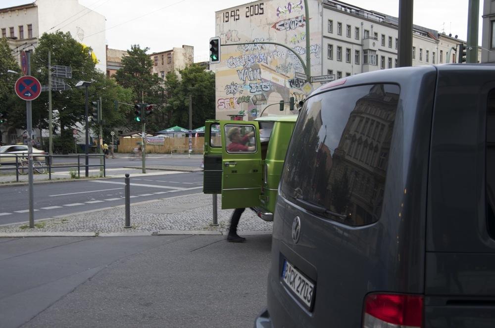Zwei lieferwagenen, Chausseestraße
