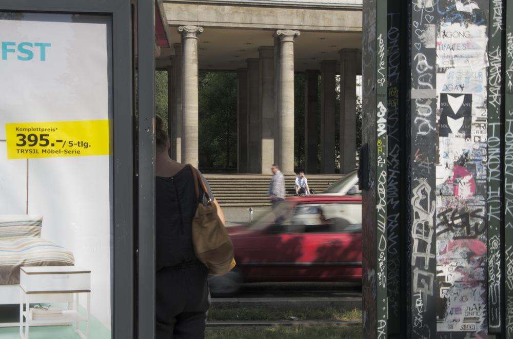 Straßenbahn Haltestelle, Frankfurter Tor