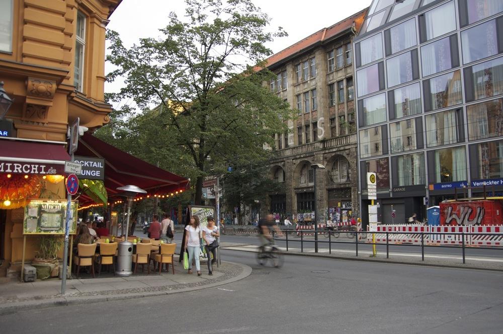 Auguststraße, am Oranienburger Straße