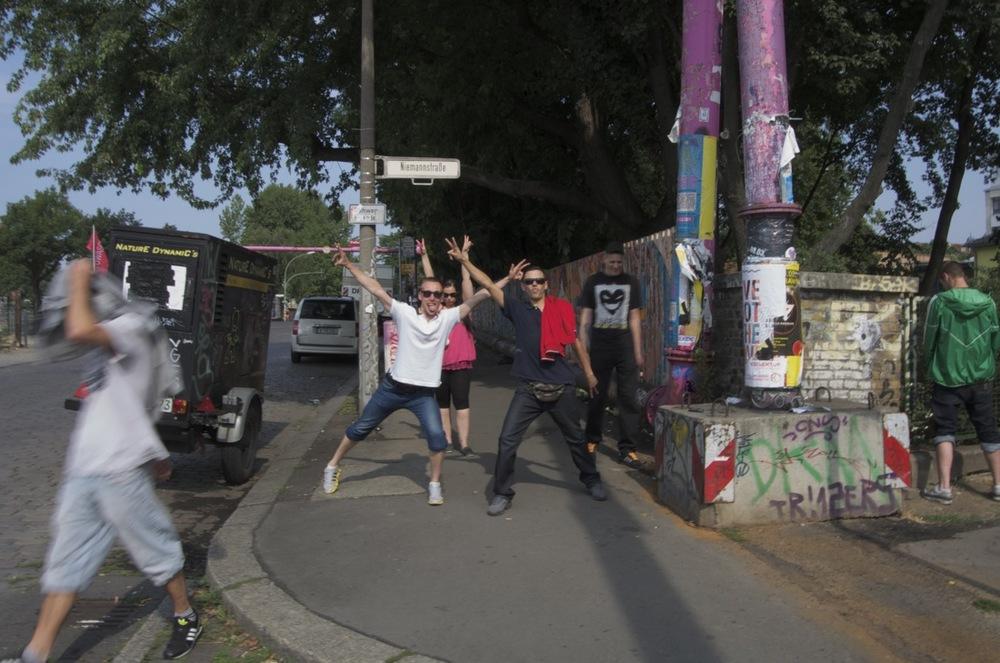 Partygänger, 9 Uhr Morgen, Niemannstraße