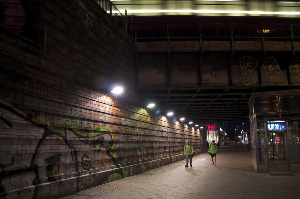 Unter der Bahnring, Frankfurter Allee