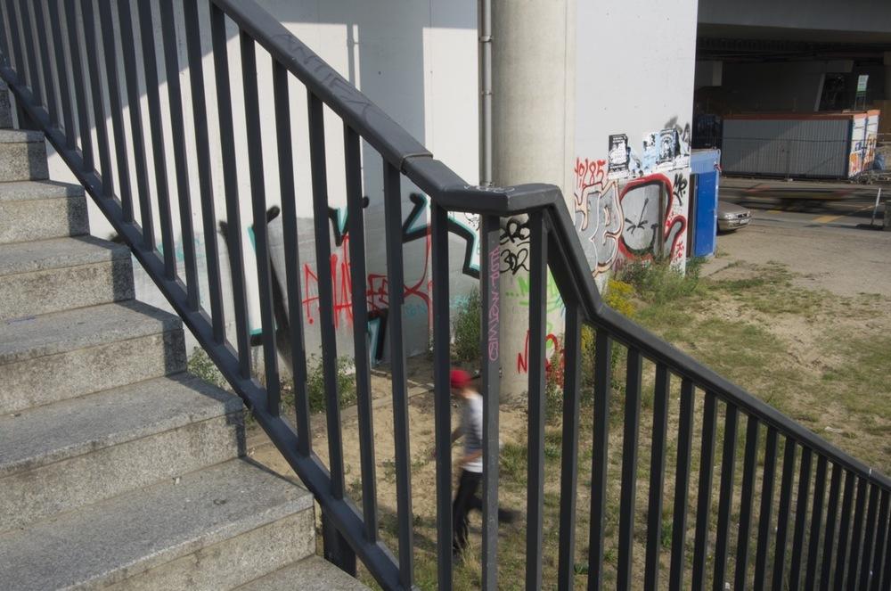 Treppe an der Kinaststraße