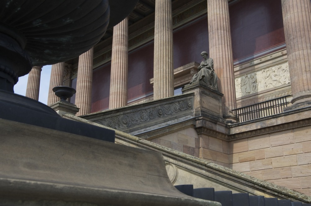 Monumentale treppe, Alte Nationalgalerie