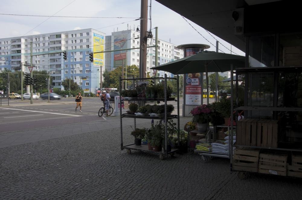 Blumenladen, Landsberger Allee und Danzigerstraße