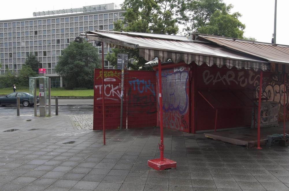 Rottes kiosk, Blücherplatz