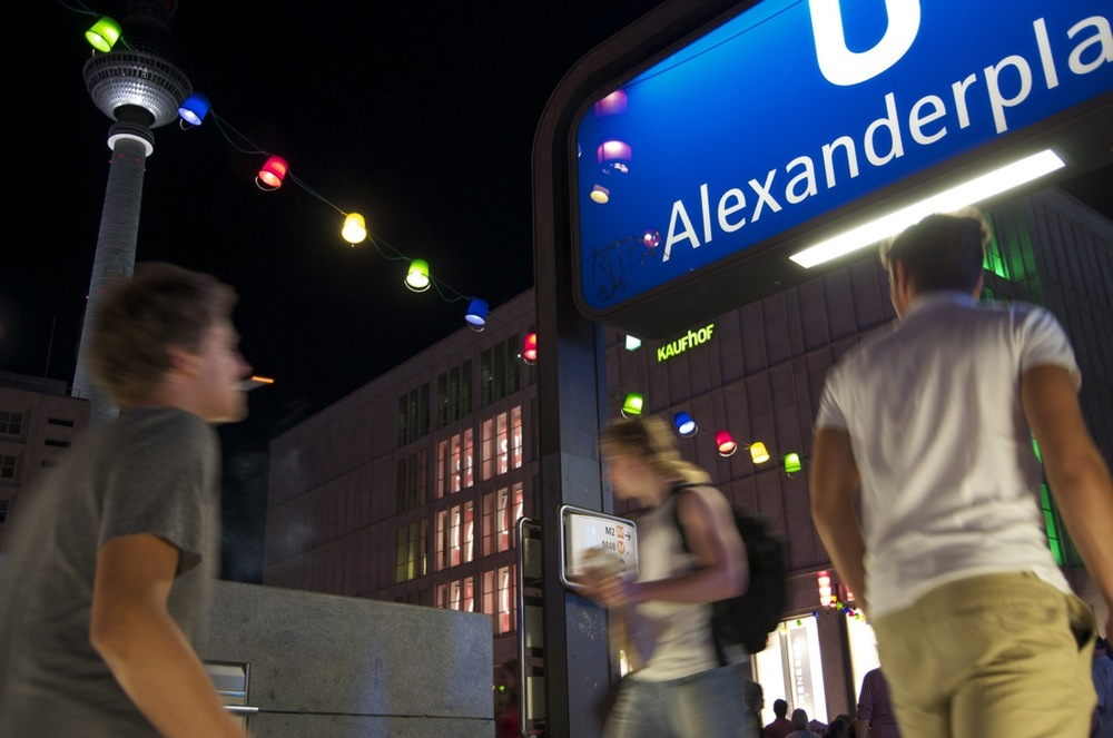 Abendstimmung, Alexanderplatz