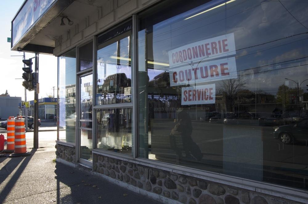Commerce, coin rue Bélanger Est et boulevard Lacordaire