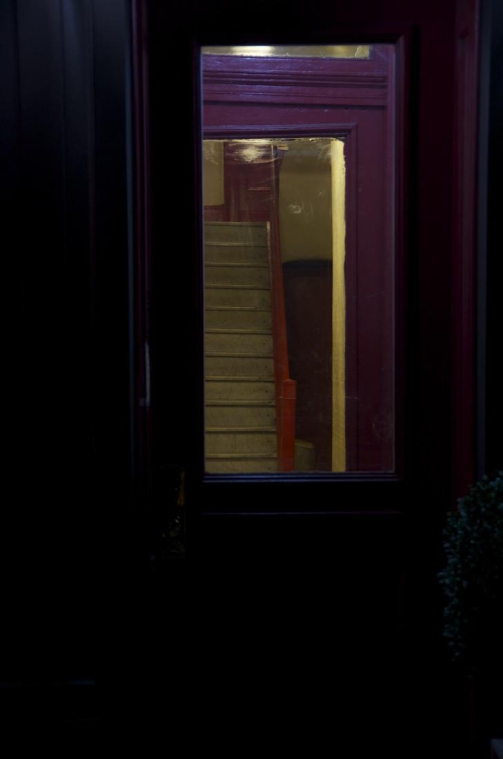 Staircase Beyond a Door, Hudson Street