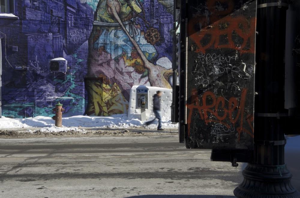 Murale, avenue des Pins
