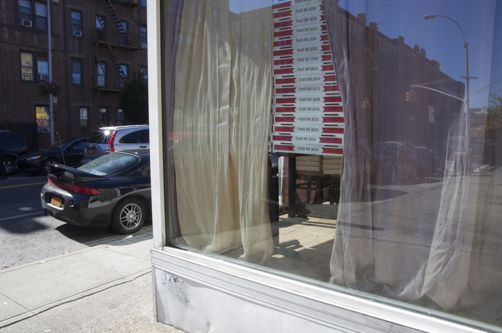Pizza Boxes, 47th Avenue, Sunnyside