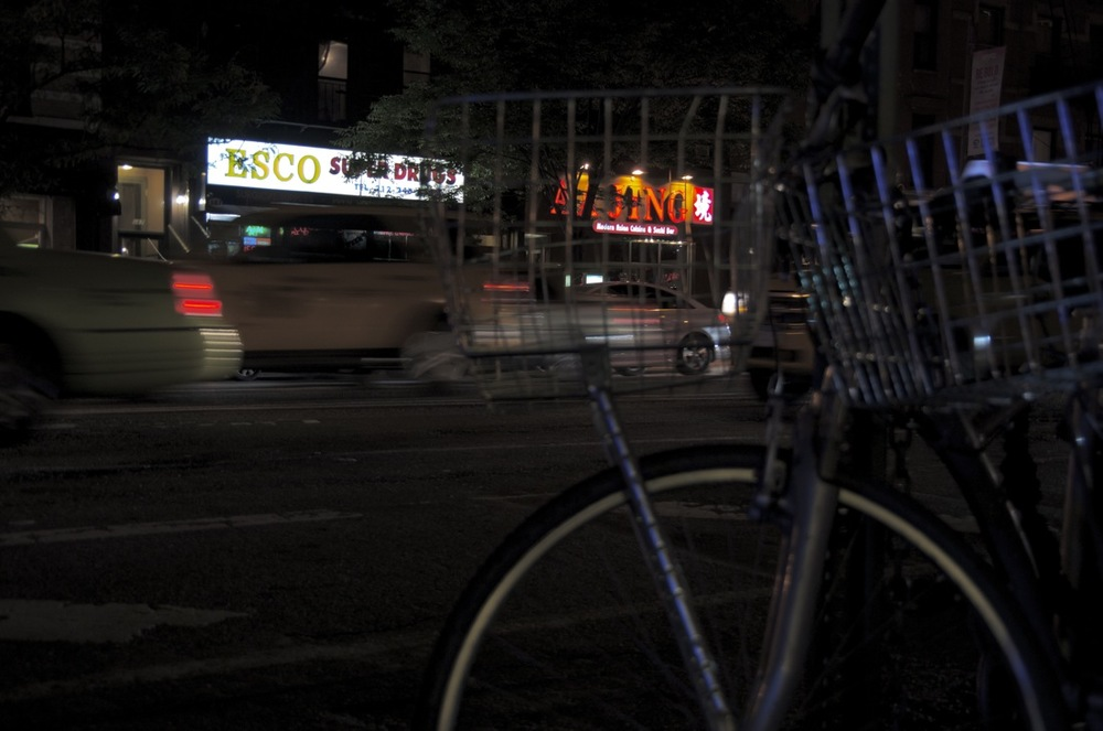 Bicycle and Shop Signs, 9th Avenue