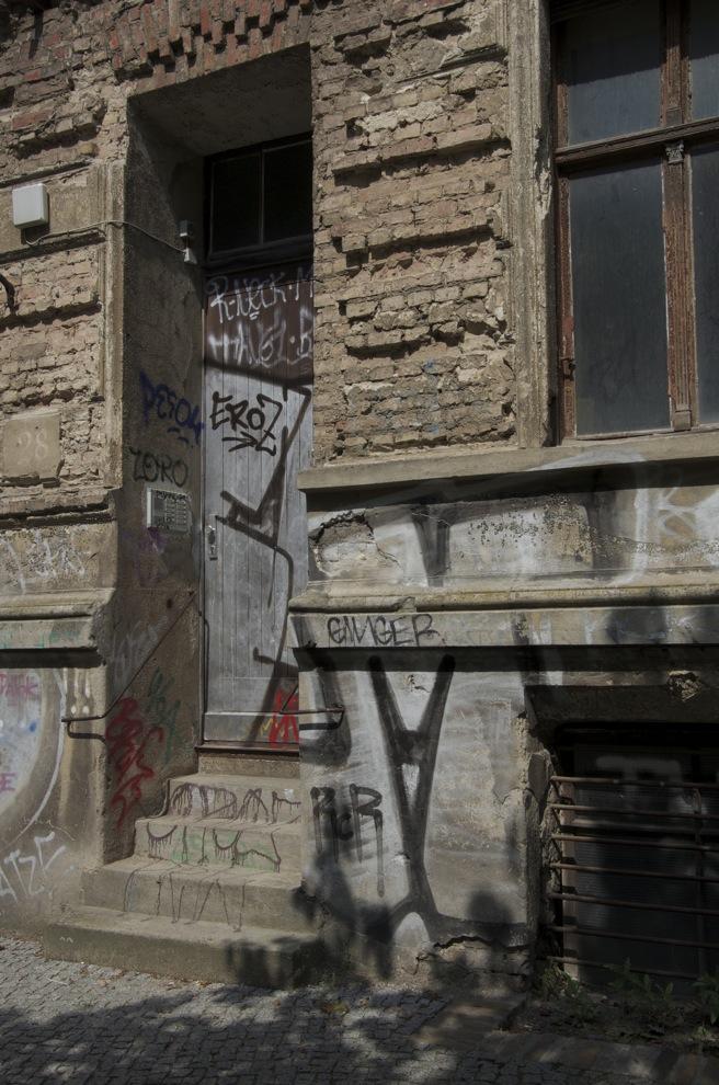 Tür auf Belforterstraße