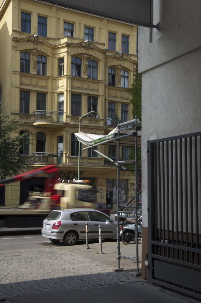 Von einem Übergang, Schleisigerstraße