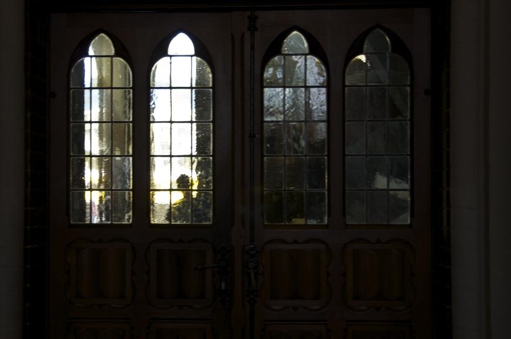 Glasmalereien, St-Marienkirsche