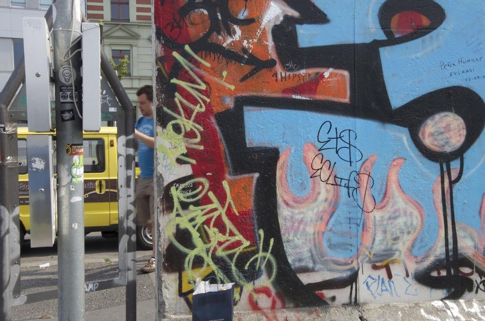An der East Side Gallery, Mühlenstraße, 2/2