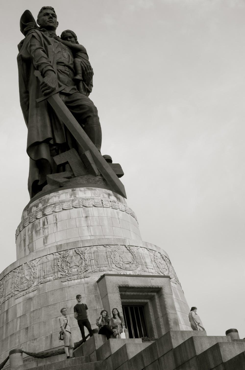 Sowjetisches Ehrenmal, Treptowerpark, Berlin
