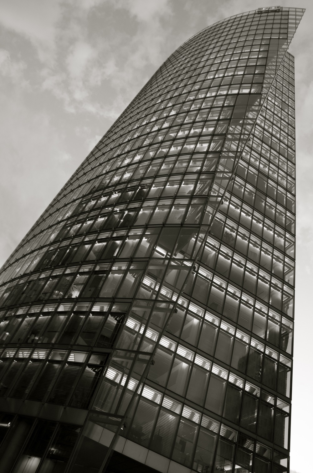 Bahntower, Sony Center, Potsdamerplatz, Berlin