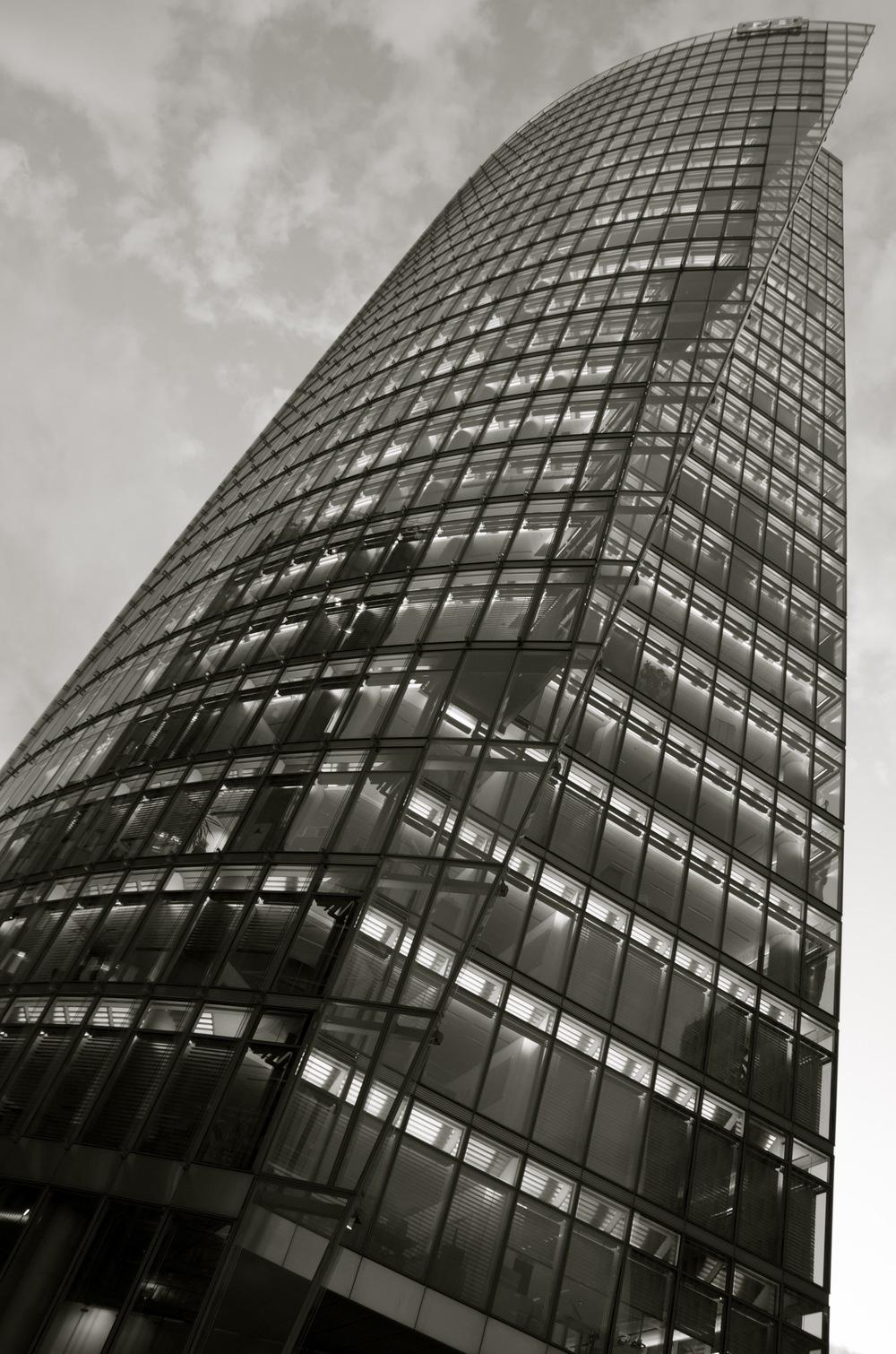 Bahntower, Sony Center, Potsdamerplatz, Berlin