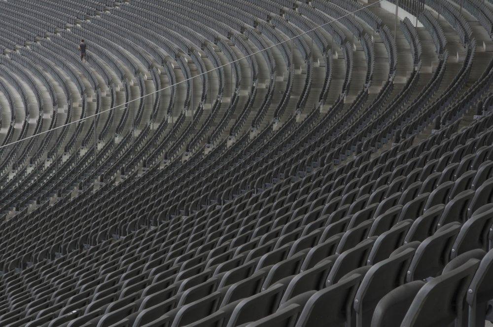 Estrades, Olympiastadion