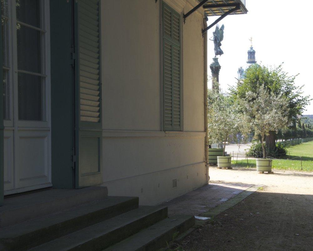 Neuer Pavillon, Schloßgarten