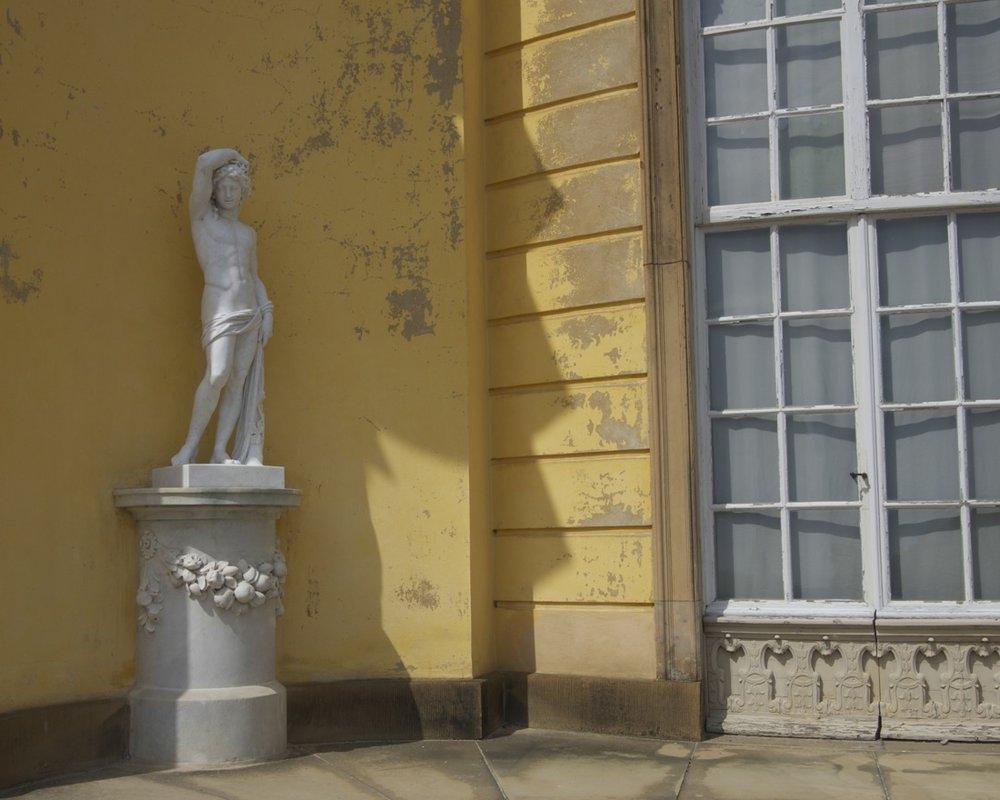 Statue, Sansoussischloß