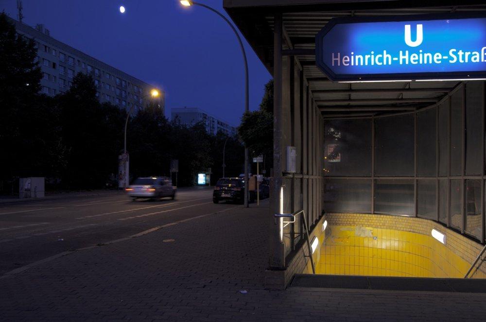 Heinrich-Heine-Straße U-Bahn Station