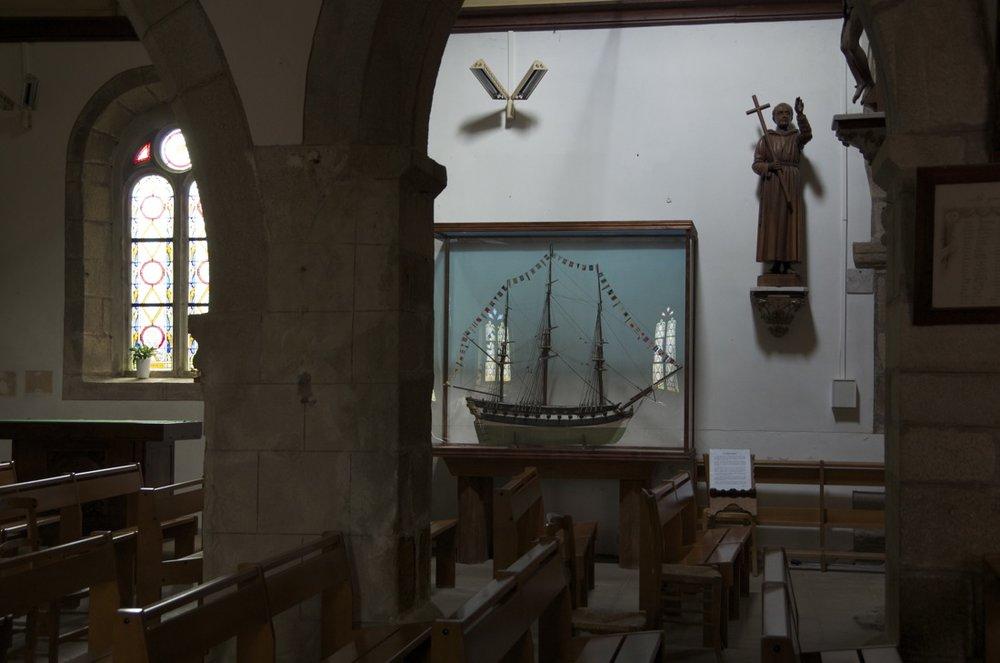 Église paroissiale Notre-Dame de Bonne-Nouvelle, le Bourg, Ile de Bréhat