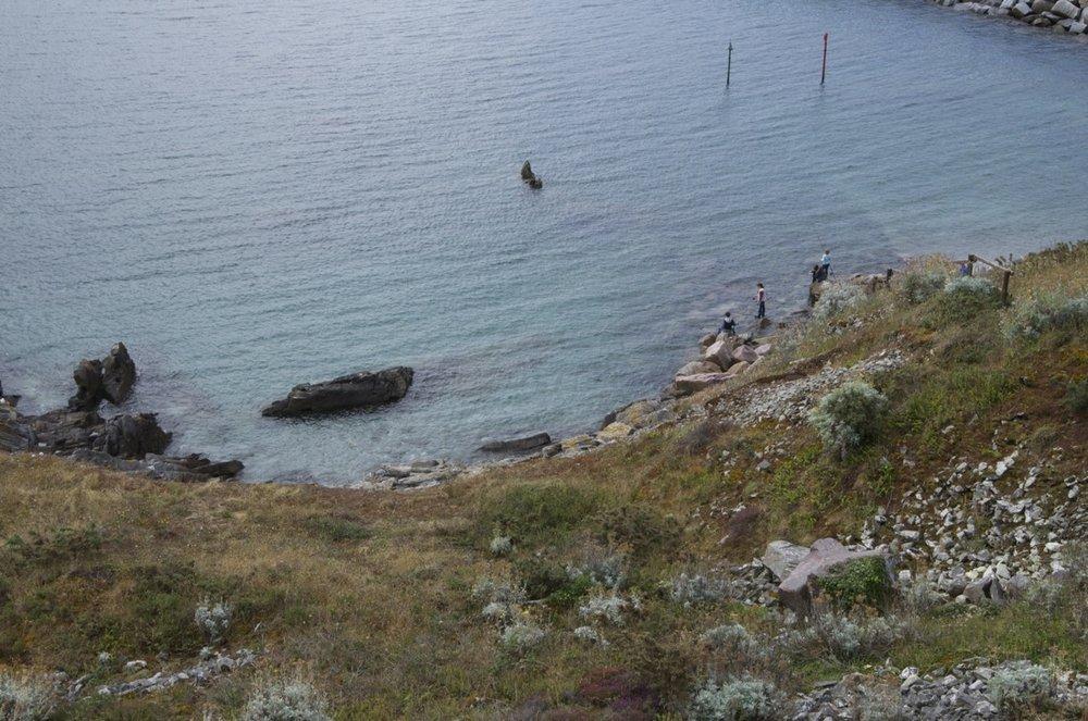 La pèche, à la pointe de l'isle, Saint-Cast-le-Guildo