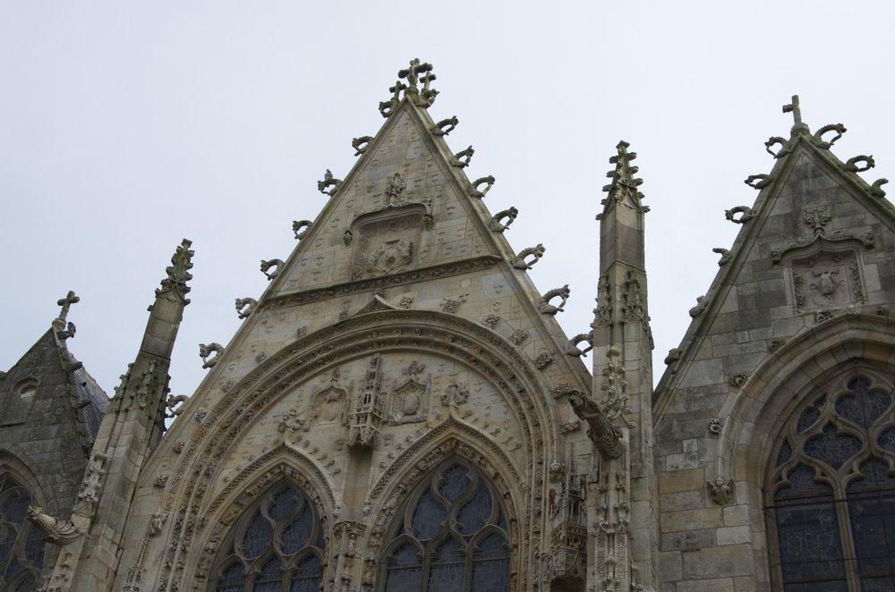 Pignons de l'église St-Armel, Ploërmel