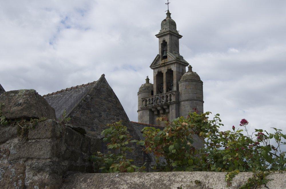 Clocher de l'église St-Quay, St-Quay-Perros