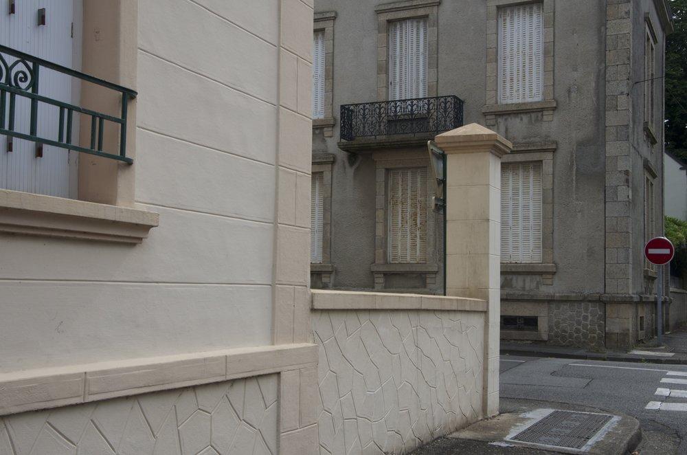 Rue Julien, à la rue Marengo, Pontivy